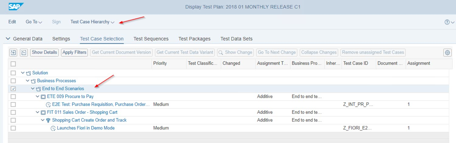 Solution Manager 7 2 Test Suite is now the recommended Test