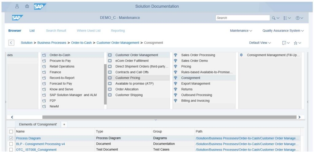 SAP Solution Manager 7.2 - Solution Documentation