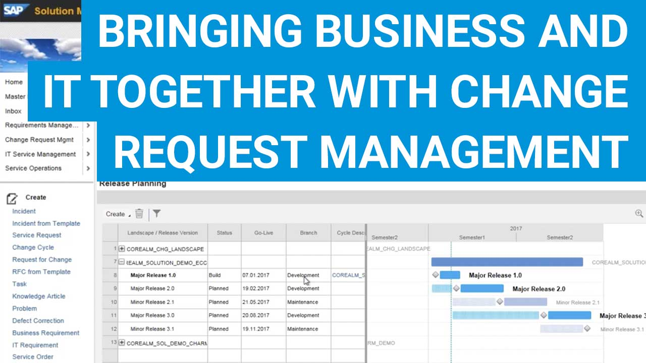 Change Request Management In Der Sap Solution Manager Installation